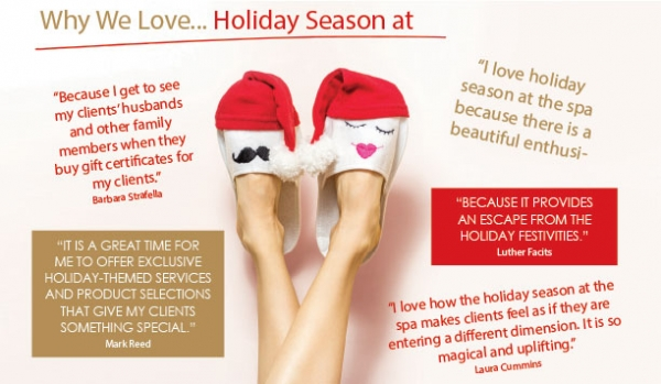 Why We Love...Holiday Season at the Spa