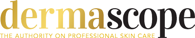 DERMASCOPE logo blckgld
