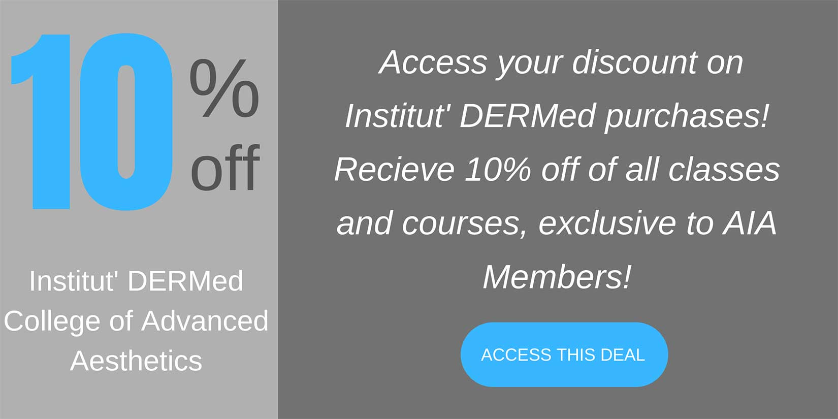 Institut DERMed coupon