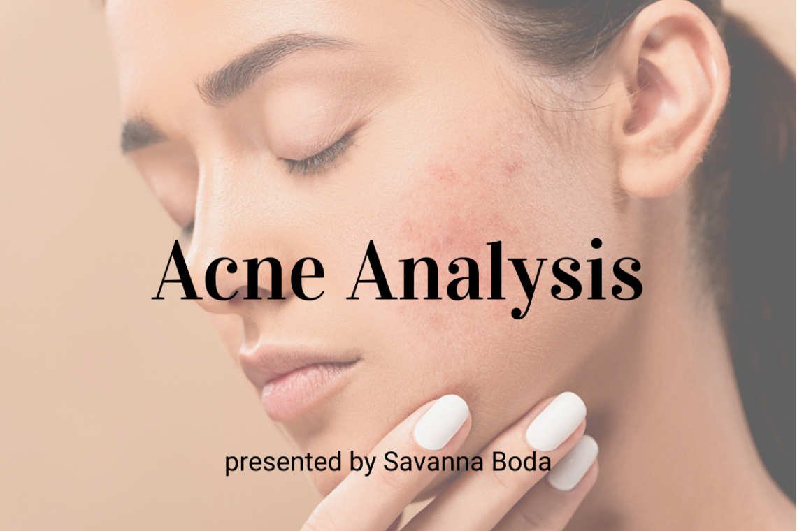 Acne Analysis