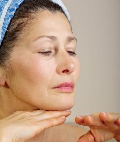 Menopause skin issues