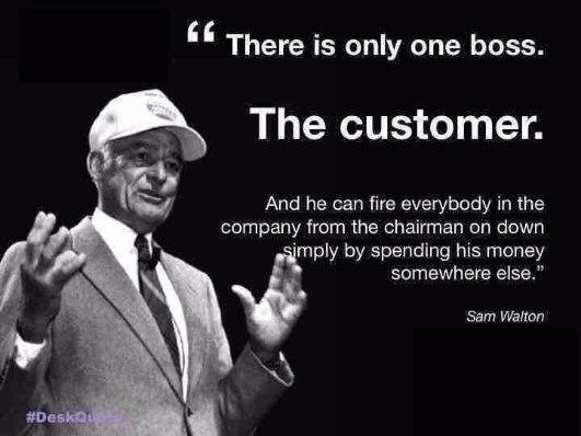 one customer