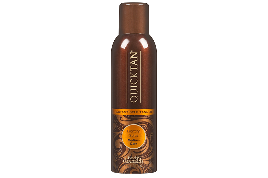 body drench Quick Tan Instant Bronzing Spray in Medium Dark by American International Industries