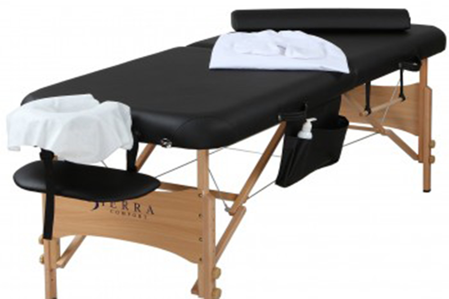 All-Inclusive Portable Massage Table by Sierra Comfont