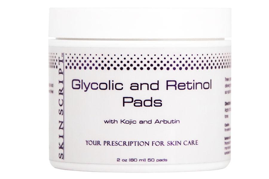 Glycolic and Retinol Pads by Skin Script