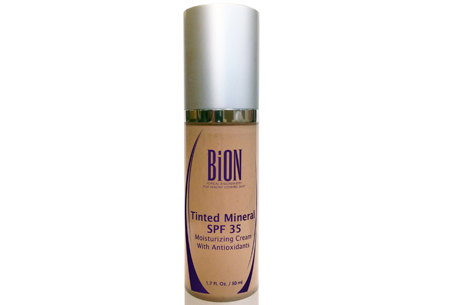 Tinted Mineral SPF 35 by BiON Skincare Products
