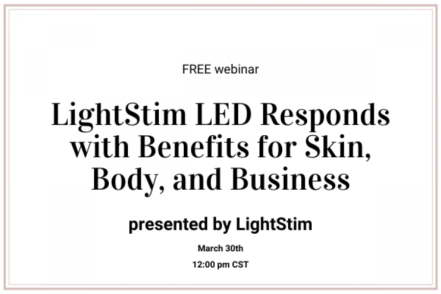 LightStim LED Responds With Benefits for Skin, Body, & Business
