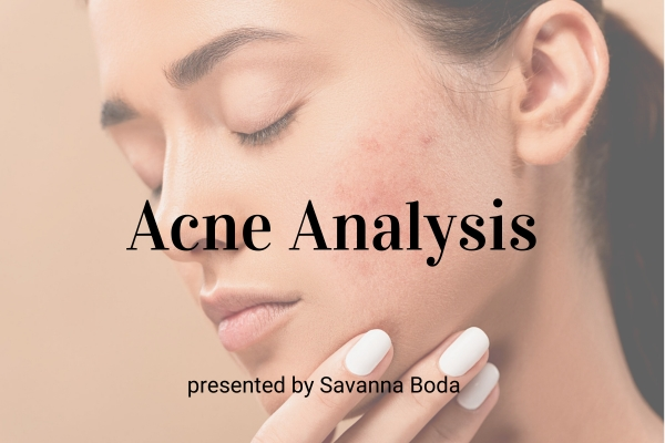 Upcoming Webinar! Acne Analysis