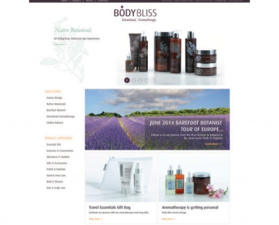 Body Bliss has launched a new website, www.bodybliss.com.