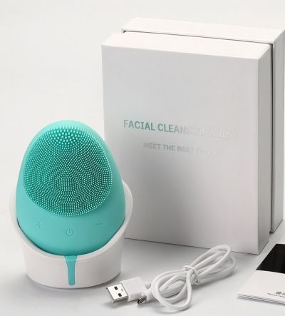 MELLOW SILICONE FACIAL CLEANSING BRUSH