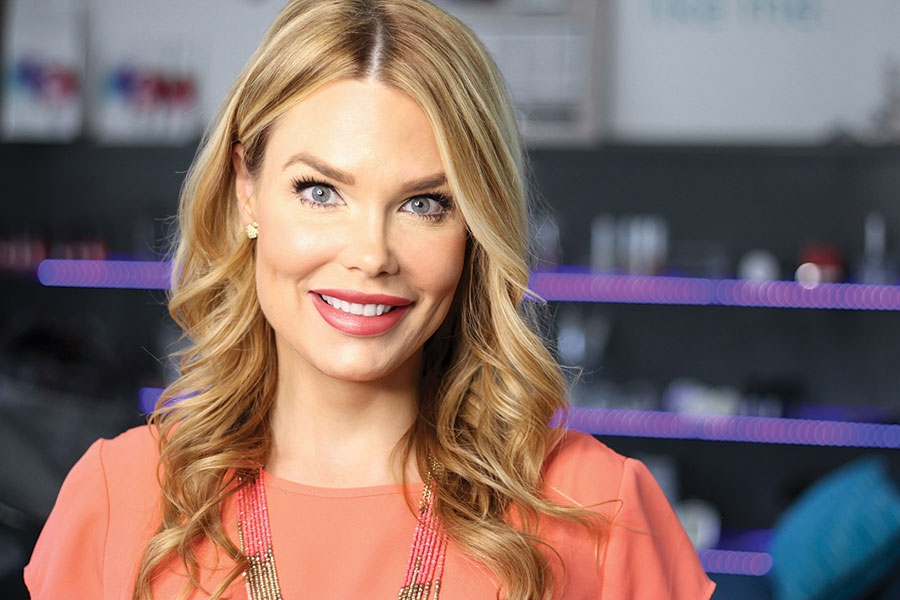 Jaclyn Peresetsky Founder and CEO of Skin Perfect Spas and Colore Me Perfect Cosmetics & Analysis