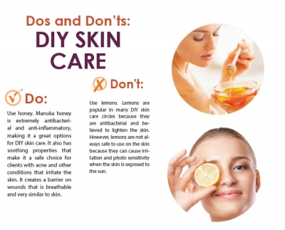 Dos and Don'ts: DIY Skin Care