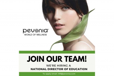 Pevonia International, LLC Seeks National Director of Education