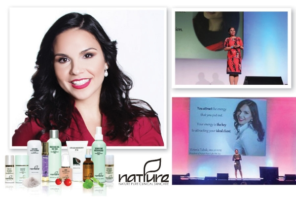 Victoria  Tabak, L.E. President of Nature Pure  Clinical Skin Care