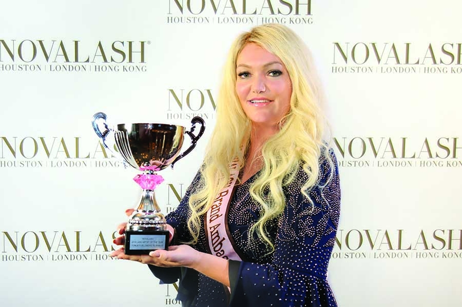 NovaLash's Lash Artist of the  Year Announced