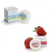 Buff Up Lime Lemonade and Balm Up Strawberry Lip Balm