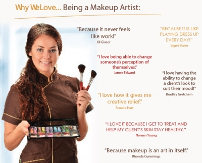 Why We Love... Being a Makeup Artist: