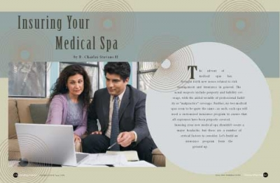 Risk Management and Insurance Issues of Medical Spa