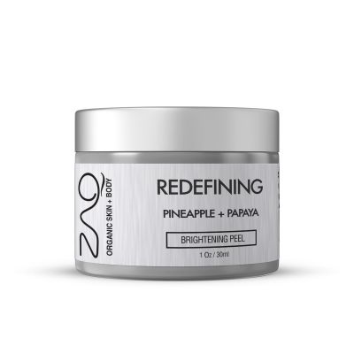 ZAQ ORGANIC REDEFINING BRIGHTENING PEEL - PINEAPPLE + PAPAYA