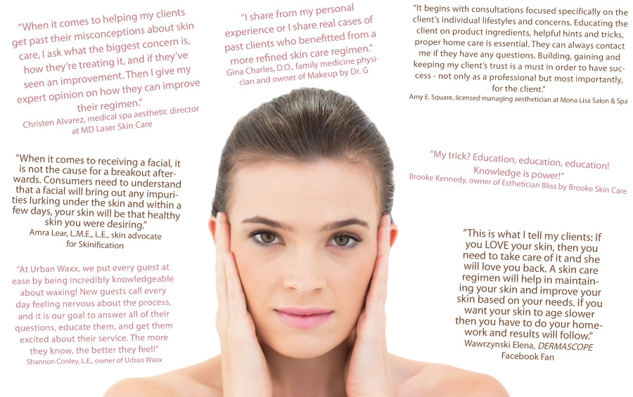 What S Your Trick To Help Clients Get Past Their Skin Care Misconceptions