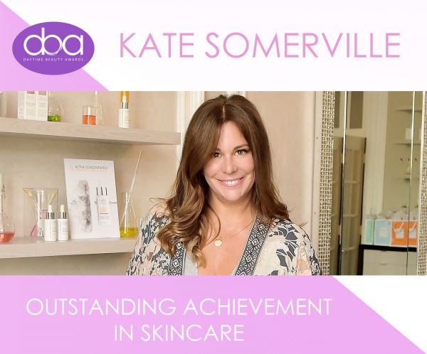2019 DAYTIME BEAUTY AWARDS  TO HONOR KATE SOMERVILLE WITH  OUTSTANDING ACHIEVEMENT IN SKINCARE