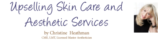Upselling Skin Care and Aesthetic Services