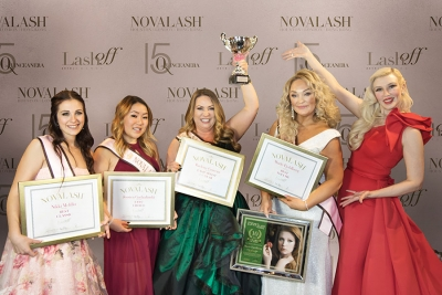 NovaLash Crowns New Lash Artist of the Year at LASHoff Gala