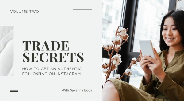 Gaining an Authentic Following on Social Media