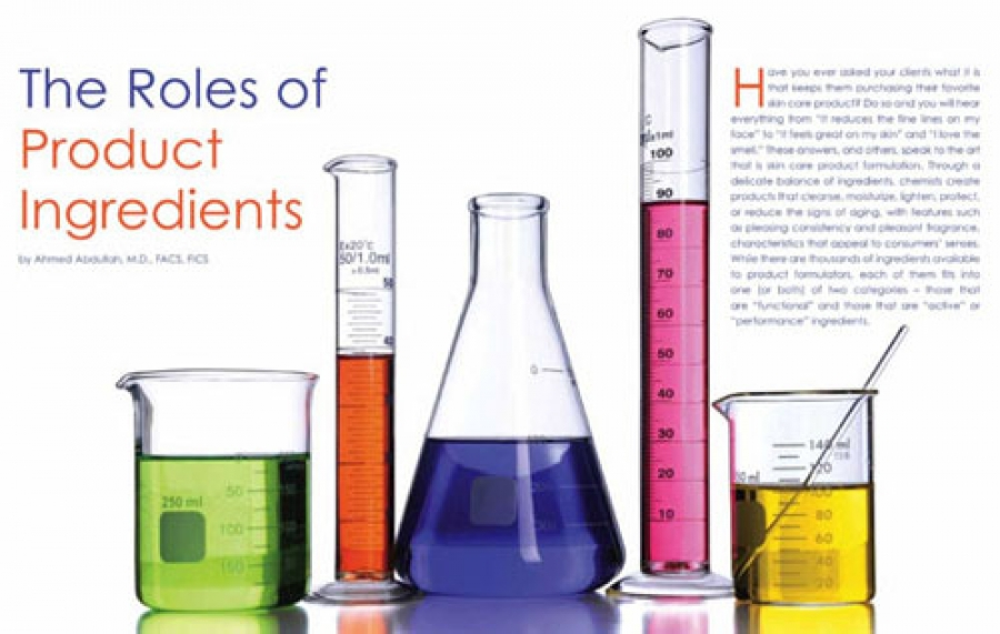The Roles of Product Ingredients