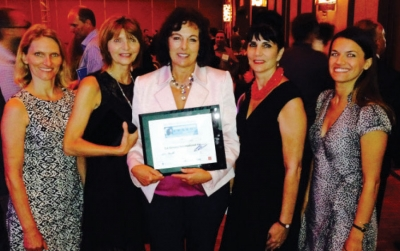 CA BOTANA International was recognized at the 2015 Manufacturing Awards
