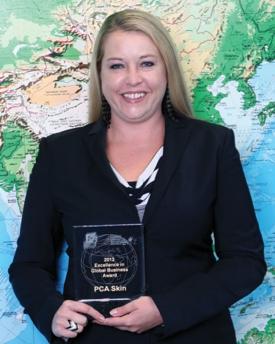 PCA skin® wins Arizona District Export Council's award for Excellence in Global Business
