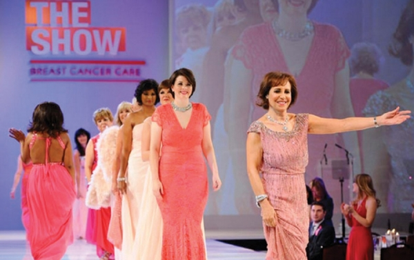 Breast Cancer Care, a breast cancer support charity, hosts three, annual fashion shows