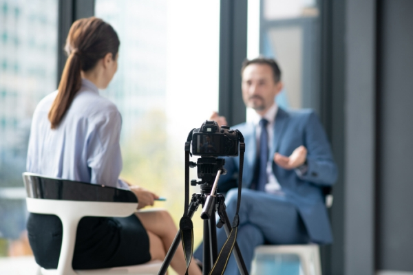 The Camera Doesn't Blink: How to Master On-Camera Interviews – Part 1