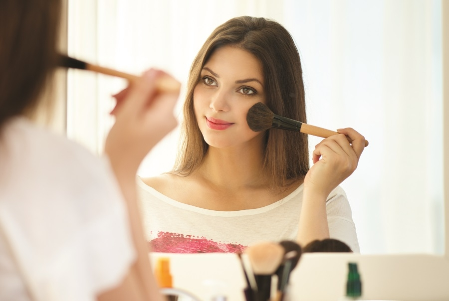 Fact or Fiction: Regularly wearing makeup ages skin faster.