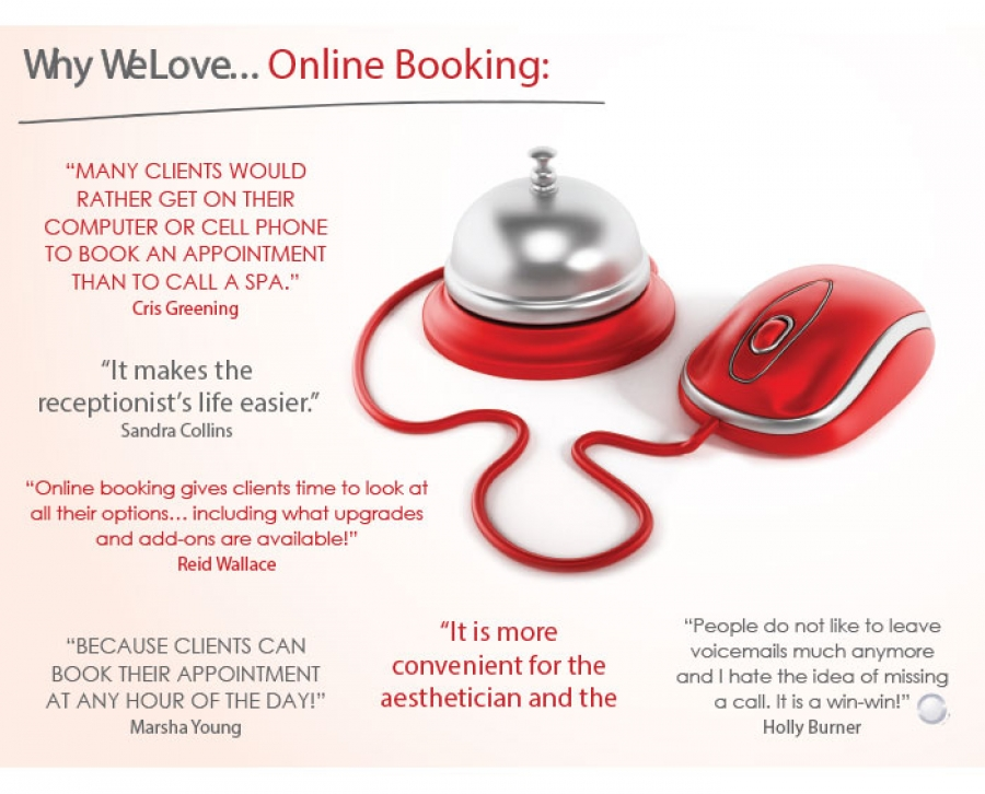 Why We Love... Online Booking: