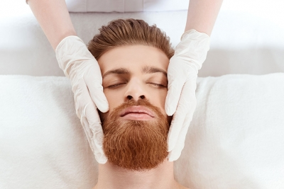 A Facial Trend for Even the Manliest of Men