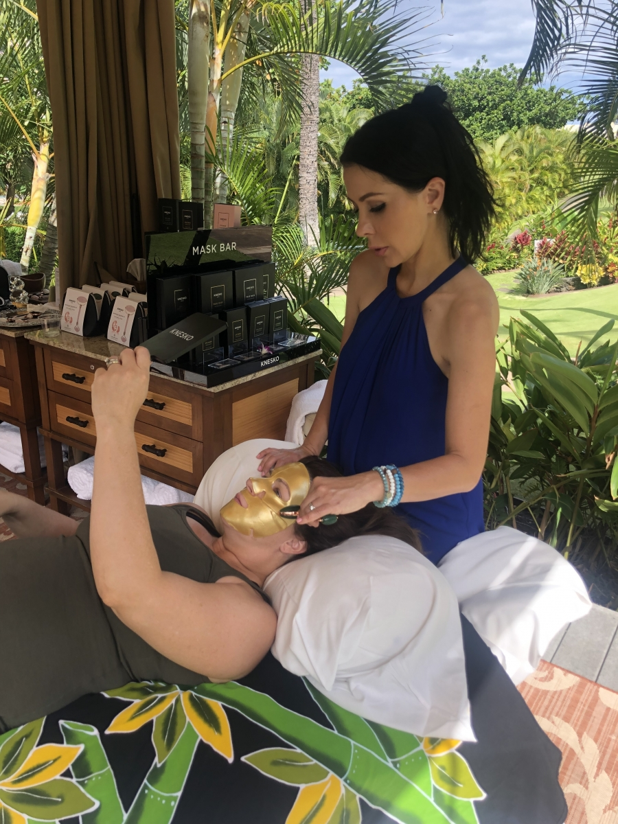 KNESKO Skin Partners with Fairmont Kea Lani on Creative Spa Offerings In and Out of the Spa