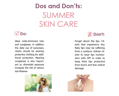 Dos and Don'ts: Summer Skin Care