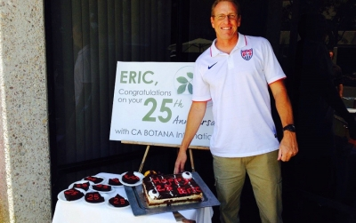 CA BOTANA celebrated the 25th work anniversary of Eric Carlton
