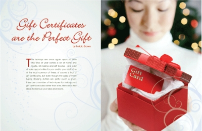 Gift Certificates are the Perfect Gift