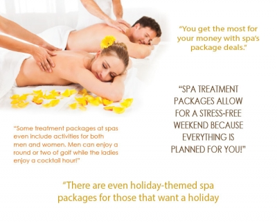 Why We Love... Spa Treatment Packages: