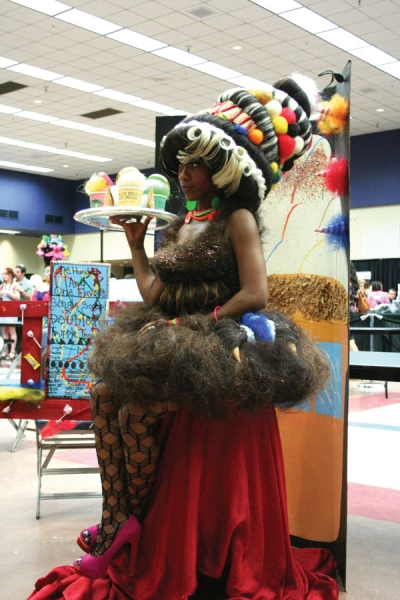 ITS Academy of Beauty, in Irving captured first place with their entry, 101 Flavors, at the regional hair competition at Educational Forum in Fort Worth, Texas.