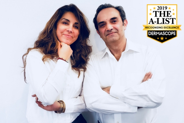 Tina Abnoosi, founder, CEO, and president of TAMA Research and Ali Shambayati, founder and CTO of TAMA Research