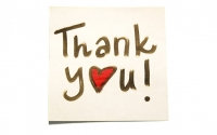 December 26th  is National  Thank You  Note Day!
