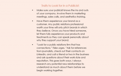 Exploring the Client-Publicist Relationship