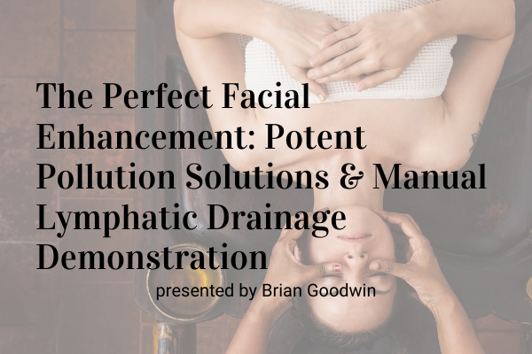 The Perfect Facial Enhancement: Potent Pollution Solutions and Manual Lymphatic Drainage Demonstration
