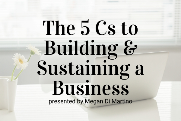 Webinar: The 5 Cs to Building and Sustaining a Skin Care Business In An Unprecedented Time