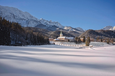 Schloss Elmau's TCM Health Spa