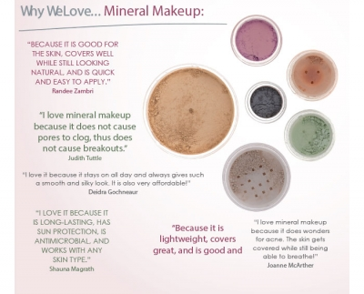 Why We Love... Mineral Makeup: