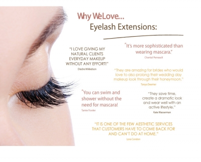 Why We Love... Eyelash Extensions